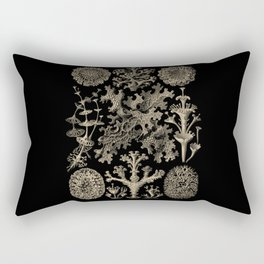 """""""Lichenes"""" from """"Art Forms of Nature"""" by Ernst Haeckel Rectangular Pillow"""