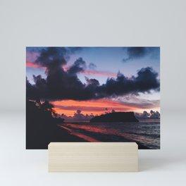 SLICE OF PARADISE Mini Art Print