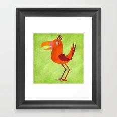 The Tiki Bird Framed Art Print