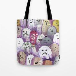 ghost magazine Tote Bag