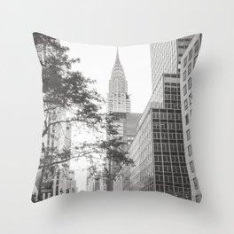The Chrysler Building New York City Throw Pillow
