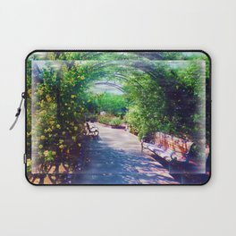 Rosy Bower Laptop Sleeve