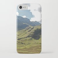 scotland iPhone & iPod Cases featuring Scotland Hills by Shelly Navarre