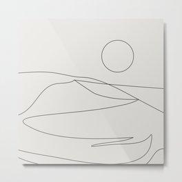 Abstract Landcape 15A Metal Print