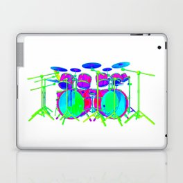 Colorful Drum Kit Laptop & iPad Skin