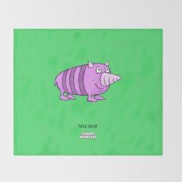 Porkal Snorkle Throw Blanket