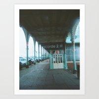 I.heart.Brighton #001 Art Print