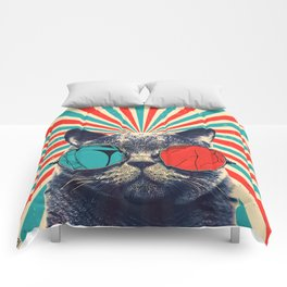 The Spectacled Cat Comforters