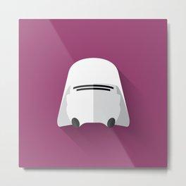 Snowtrooper Flat Design  Metal Print