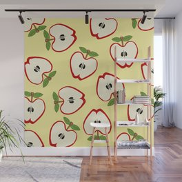 Red Apples Wall Mural
