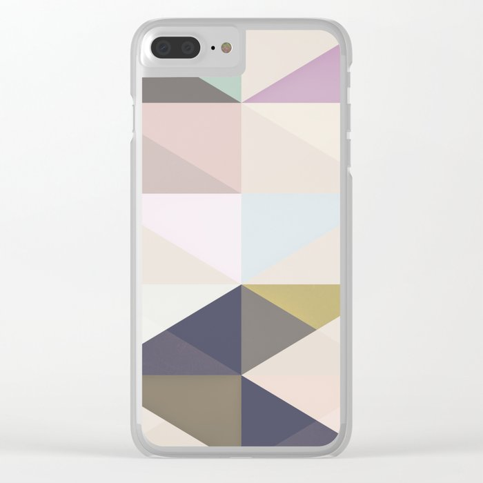 The Nordic Way III Clear iPhone Case