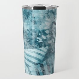 Blue safari Travel Mug