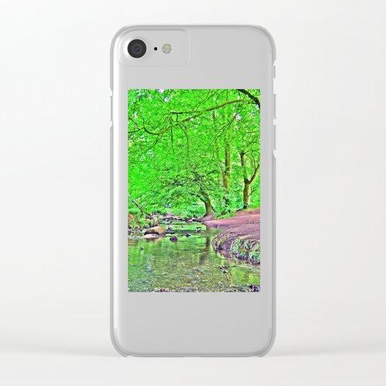 Exuberant Clear iPhone Case