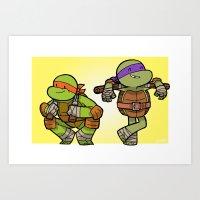 MikeyDon Art Print