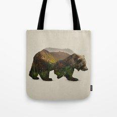 North American Brown Bear Tote Bag