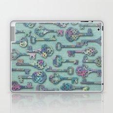 Pastel Skeleton Keys Laptop & iPad Skin
