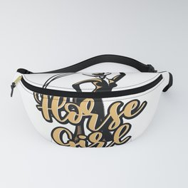 Cowboy Horse Country Western Outfit Horse Girl Fanny Pack