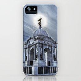 Pennsylvania Memorial, Gettysburg iPhone Case