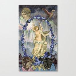 THE WORLD MAJOR ARCANA Canvas Print