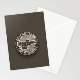 Misbehave Badge V2 Stationery Cards