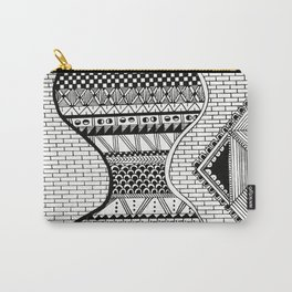 Wavy Geometric Patterns Carry-All Pouch