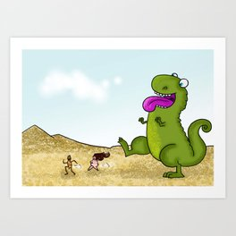 Run Run as fast as you can .. Art Print
