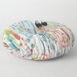 belle histoire Floor Pillow