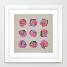T.VARIATIONS (everyday 8.25.15) Framed Art Print