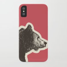 Bear Necessities Slim Case iPhone X