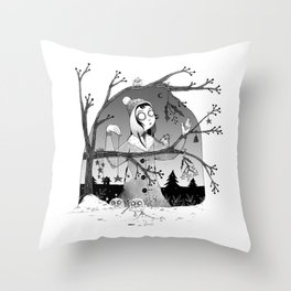 Preparations Throw Pillow