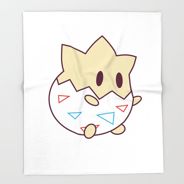 Kawaii Chibi Togepi Throw Blanket