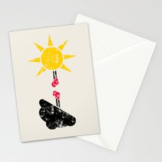 Weather War Stationery Cards