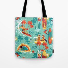 Hawaiian resort Tote Bag