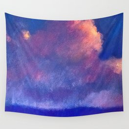 Sky Roses Wall Tapestry