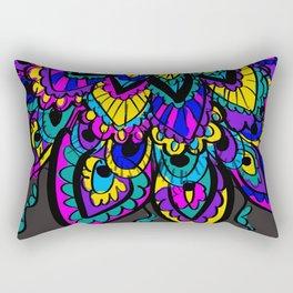 Platonic Rectangular Pillow
