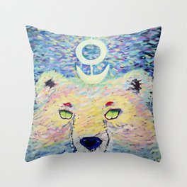 Mythical Creatures - Bär Throw Pillow