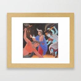 Summoning the Light Framed Art Print