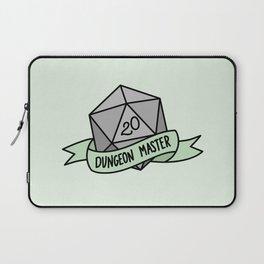 Dungeon Master D20 Laptop Sleeve