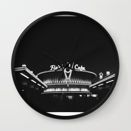 Cars Land Flo  Wall Clock
