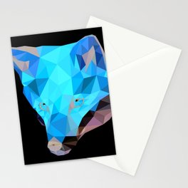 Lowpoly Fox Stationery Cards