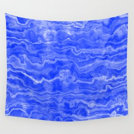 Egyptian Marble, Lapis Blue Wall Tapestry