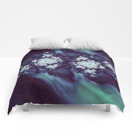 Night Blossoms Comforters