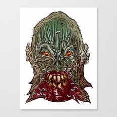 Heads of the Living Dead  Zombies: Salivation Zombie Canvas Print
