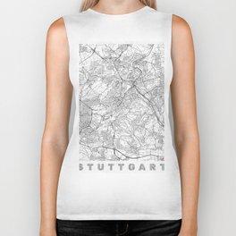 Stuttgart Map Line Biker Tank