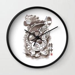 Traditional Nekobasu Variant ghibli Wall Clock