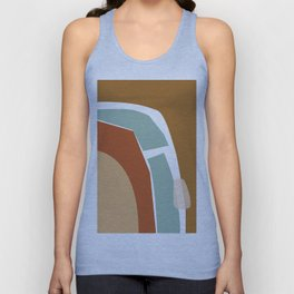 // Reminiscence 02 Unisex Tank Top