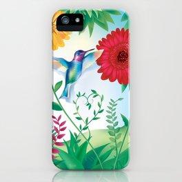 Wanga Nègès - Hummingbird iPhone Case