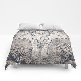 Indian Elephant Mandala Comforters