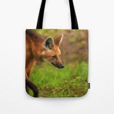 Wolf Strut Tote Bag