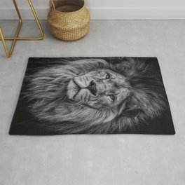 Lion Print, Woodland Nursery Print, Lion King Poster, Animal Prints, Nursery Animal Print, Printable Wall Art, Nursery Decor Rug